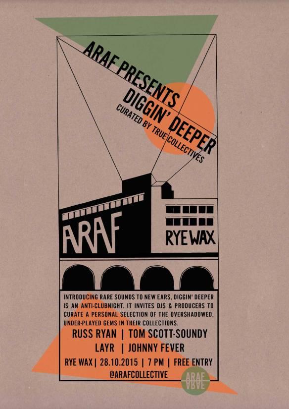 RYEWAX 281015 Poster Flyer